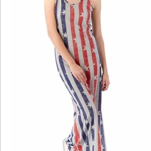 Alternative Apparel Stripes & Stars Dress